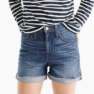 J.Crew Trademark High-Rise Denim Jean Shorts #G0272 Size 29